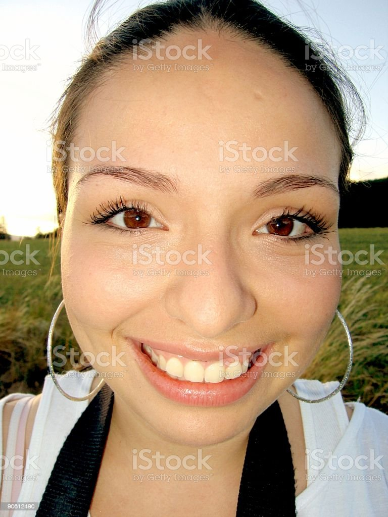 Mexican Girl royalty-free stock photo