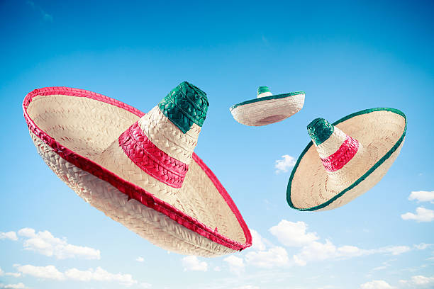 Mexican hat / sombrero in the sky