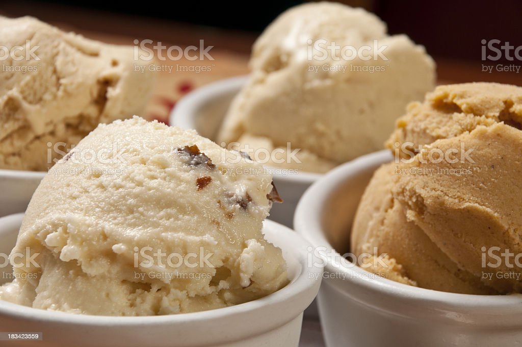 Mexican ice cream royalty-free stock photo