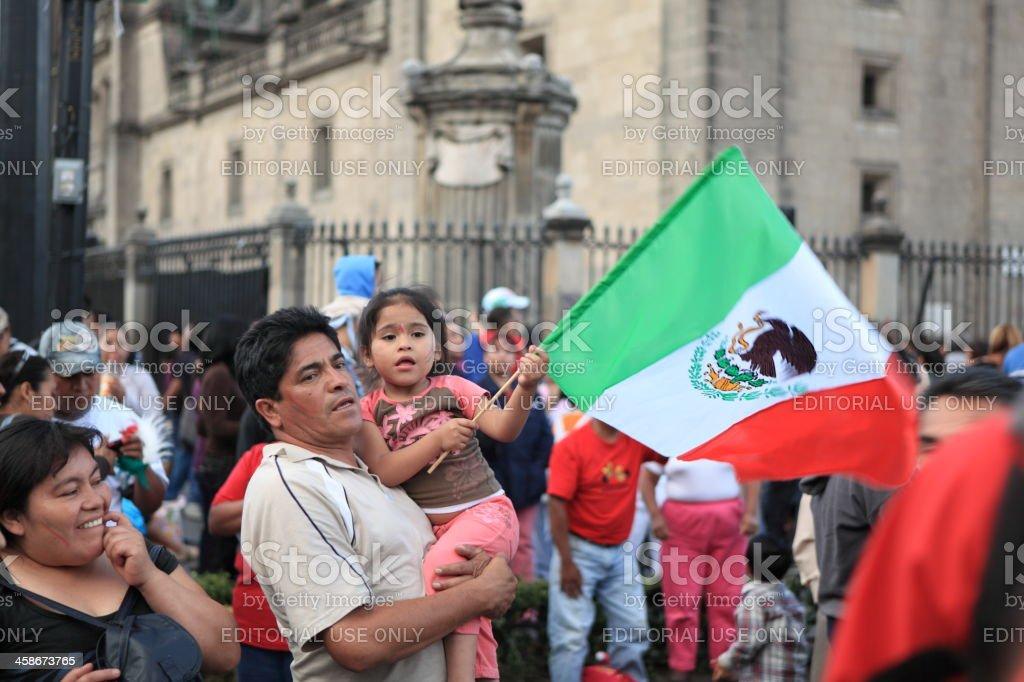 Mexicana la independencia - foto de stock