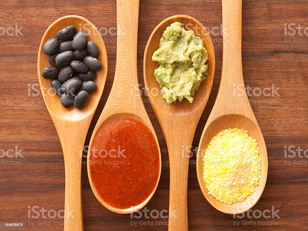 Mexican ingredients stock photo