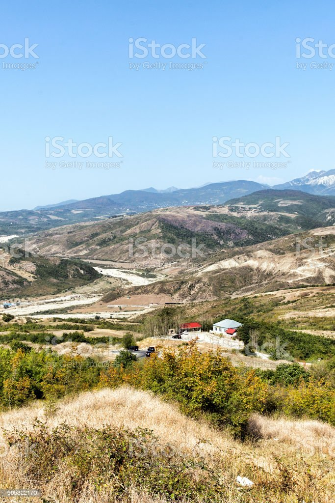 Mexican landscape. royalty-free stock photo