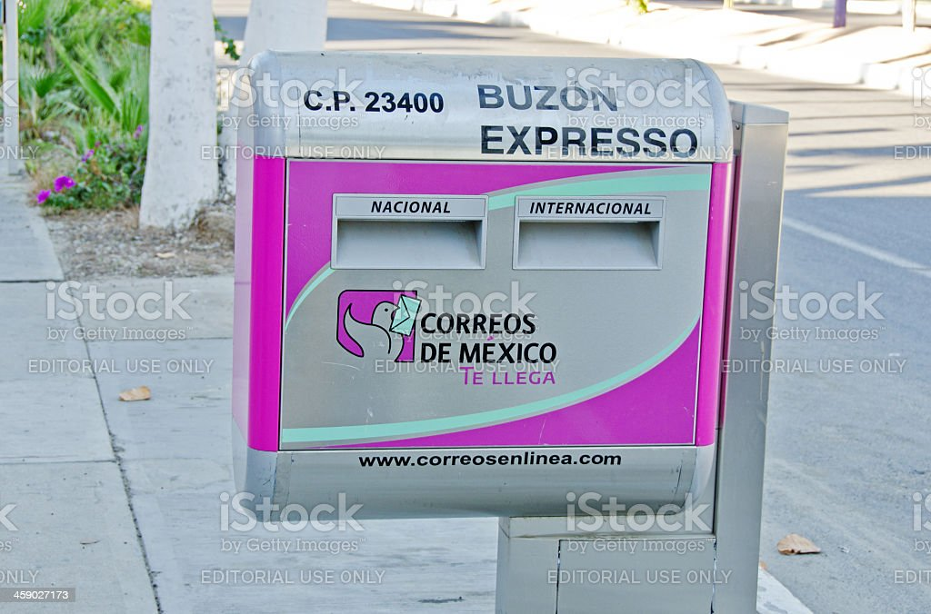Mexican Mail Box royalty-free stock photo