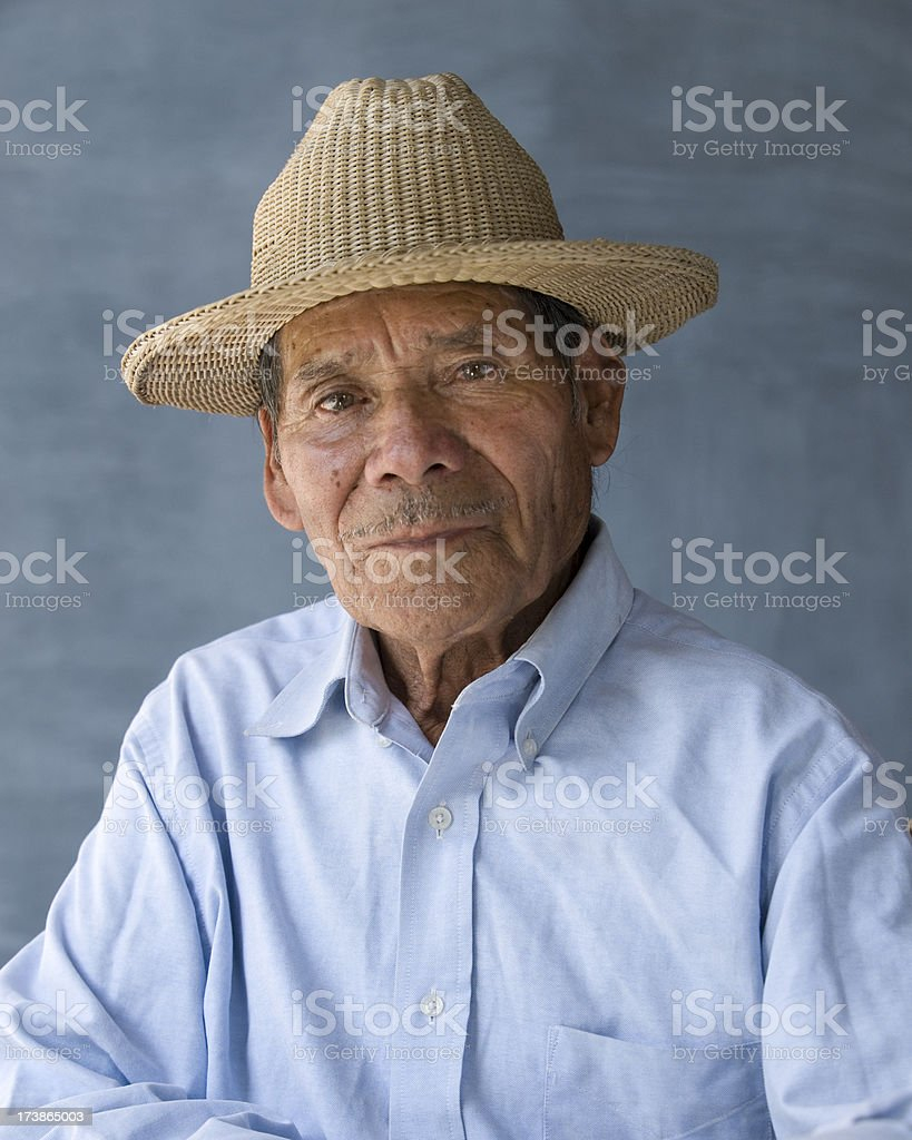 Mexican man royalty-free stock photo