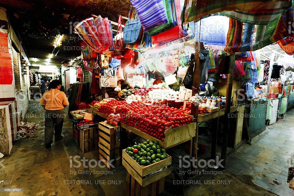 Mexican Market stock photo