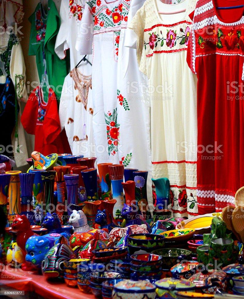 Mercado mexicano - foto de stock