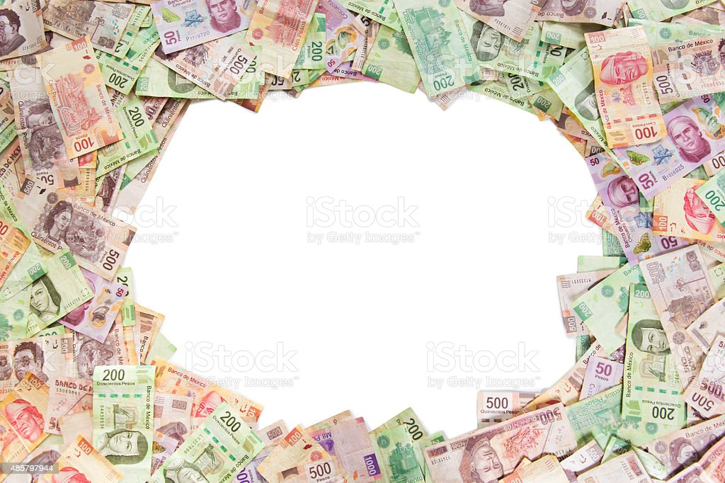 Mexican Money Background Stock Photo More Pictures Of 2015 Istock