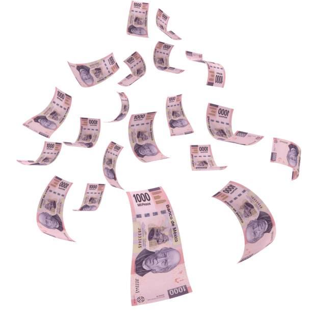 Mexikanische Geld Peso fallenden Finanzkrise – Foto
