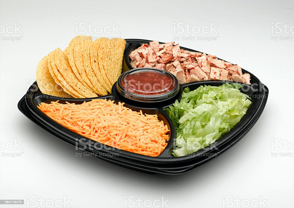 Mexican Platter stock photo