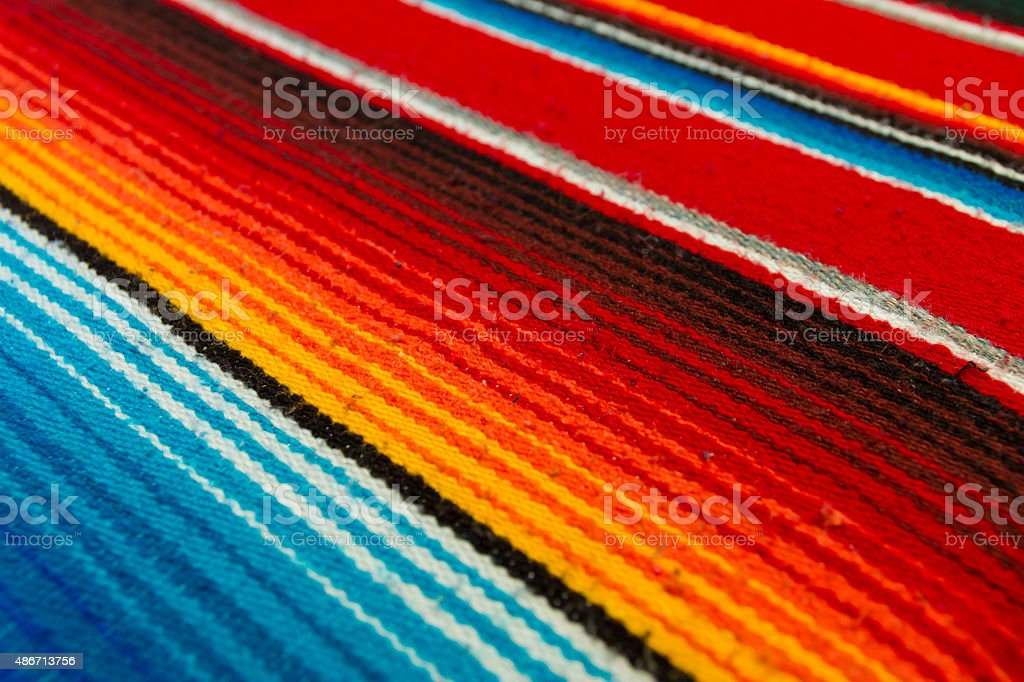 Mexican Poncho stock photo