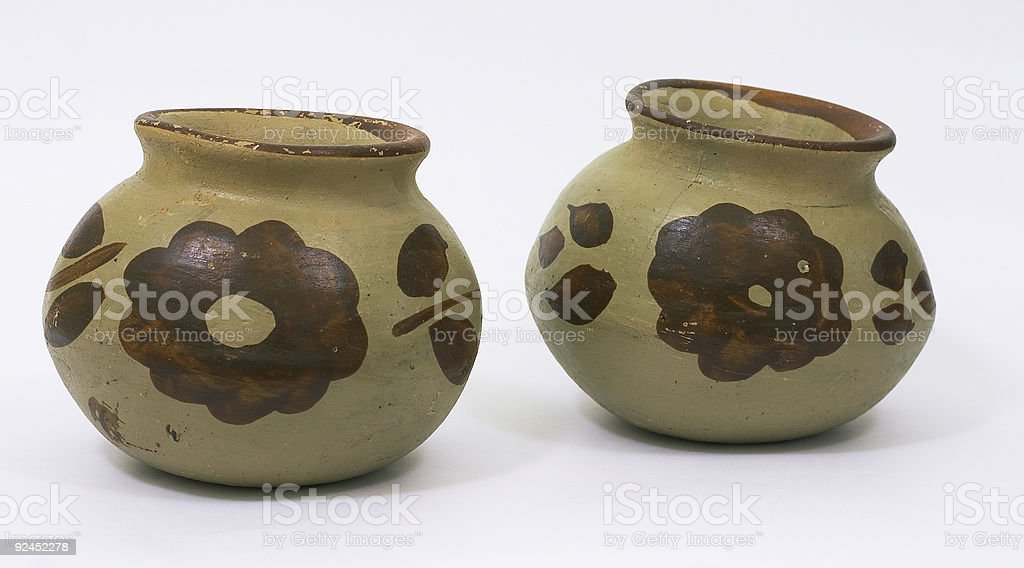 Mexican Pots royalty-free stock photo