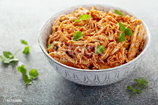 istock Mexican pulled chicken 1194753880