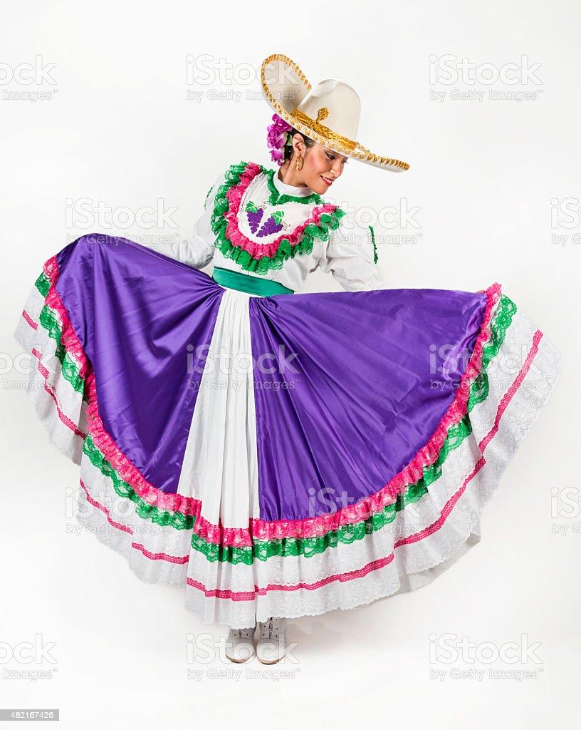 Baile Regional Mexicana Vestido Foto De Stock Y Más Banco De