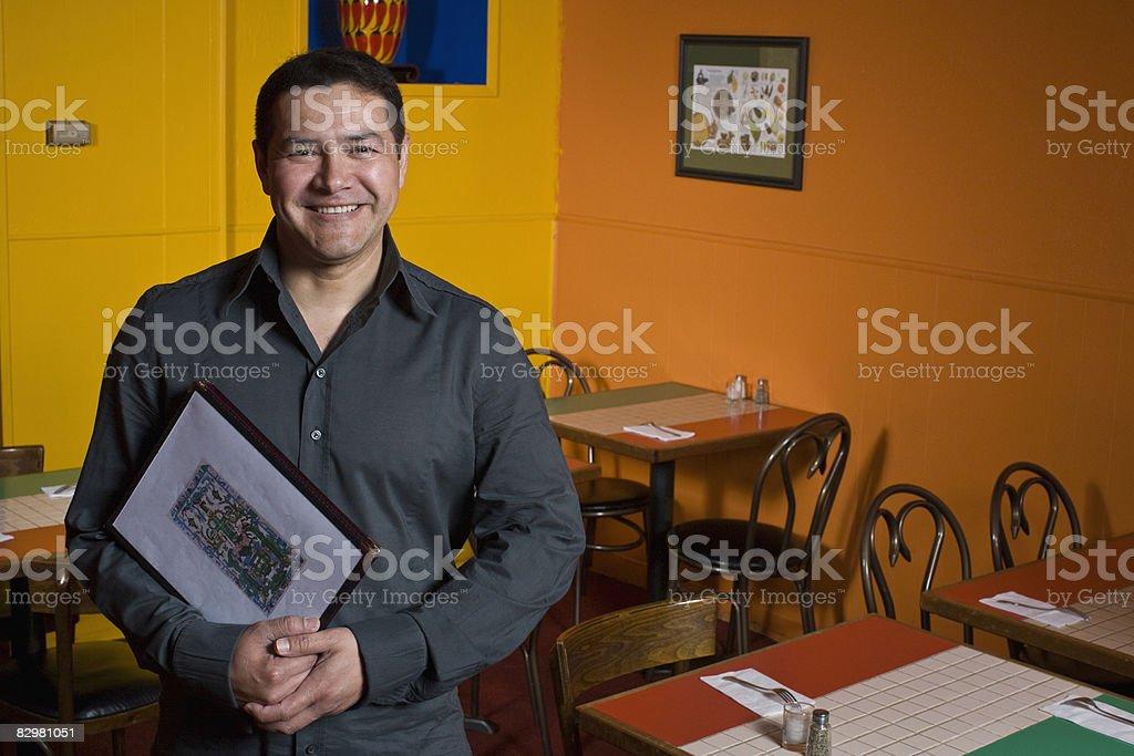 Ristorante messicano proprietario foto stock royalty-free
