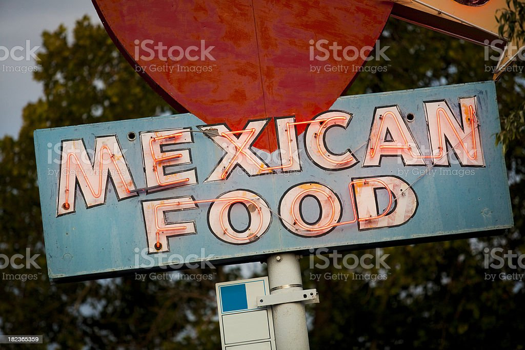Mexican restaurant royalty-free stock photo