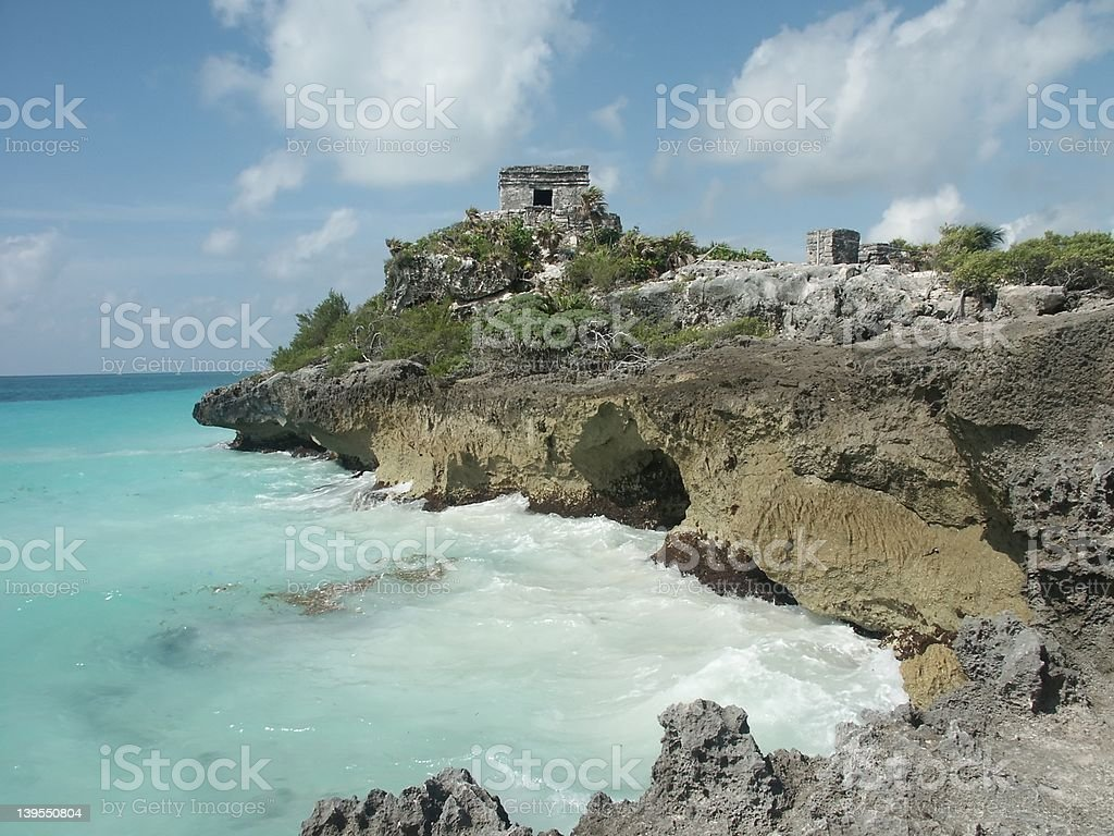 Mexican Ruins stock photo