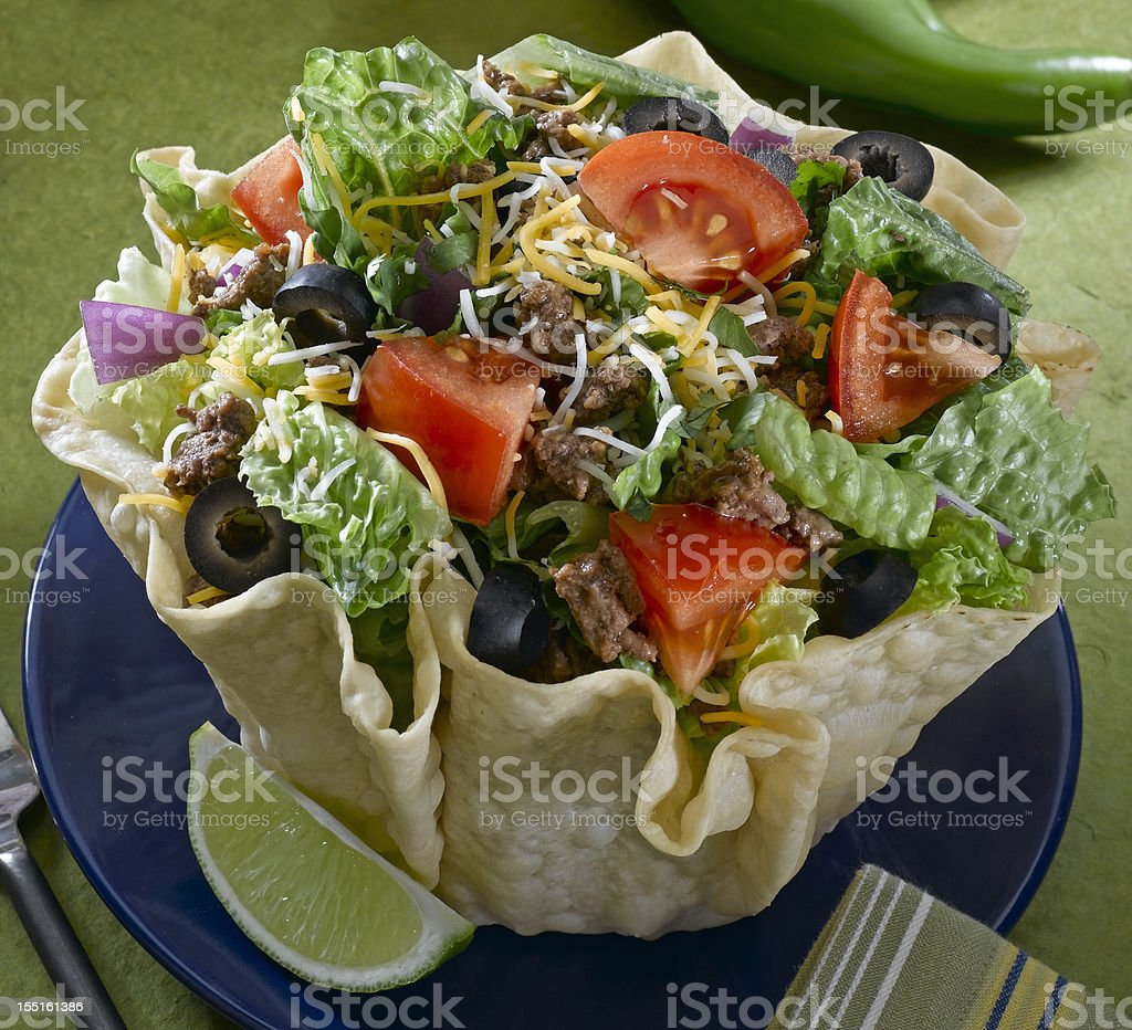 Mexican Salad stock photo