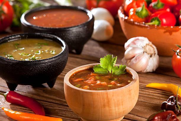 Salsa mexicana - foto de stock