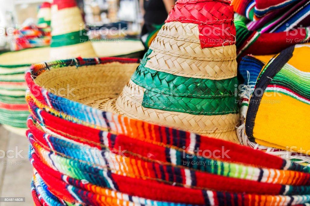 Mexican Sombreros stock photo