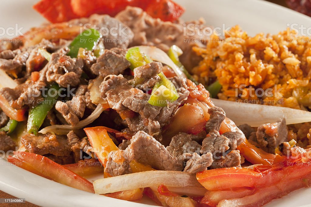 Mexican  Stew royalty-free stock photo