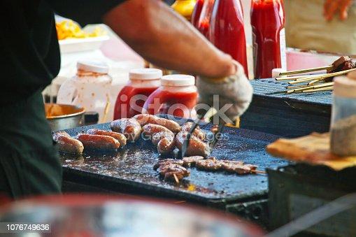 istock Mexican Street Food 1076749636