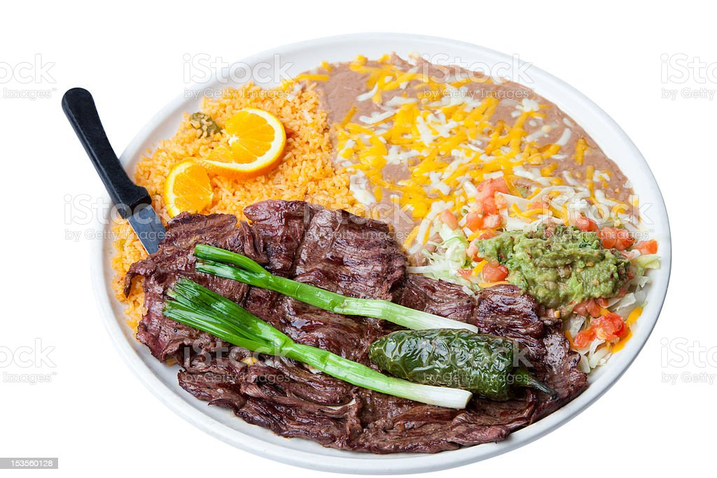 Mexican style Skirt Steak stock photo