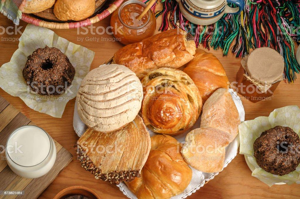 Mexican sweet bread photo libre de droits