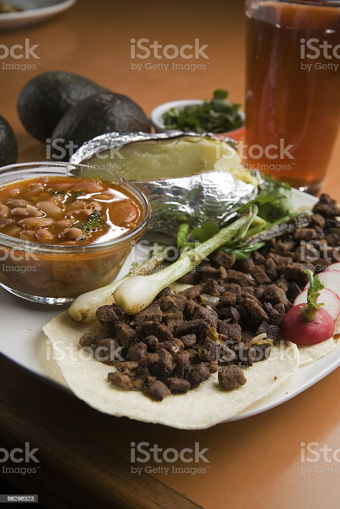 Mexican Tacos royalty-free stock photo