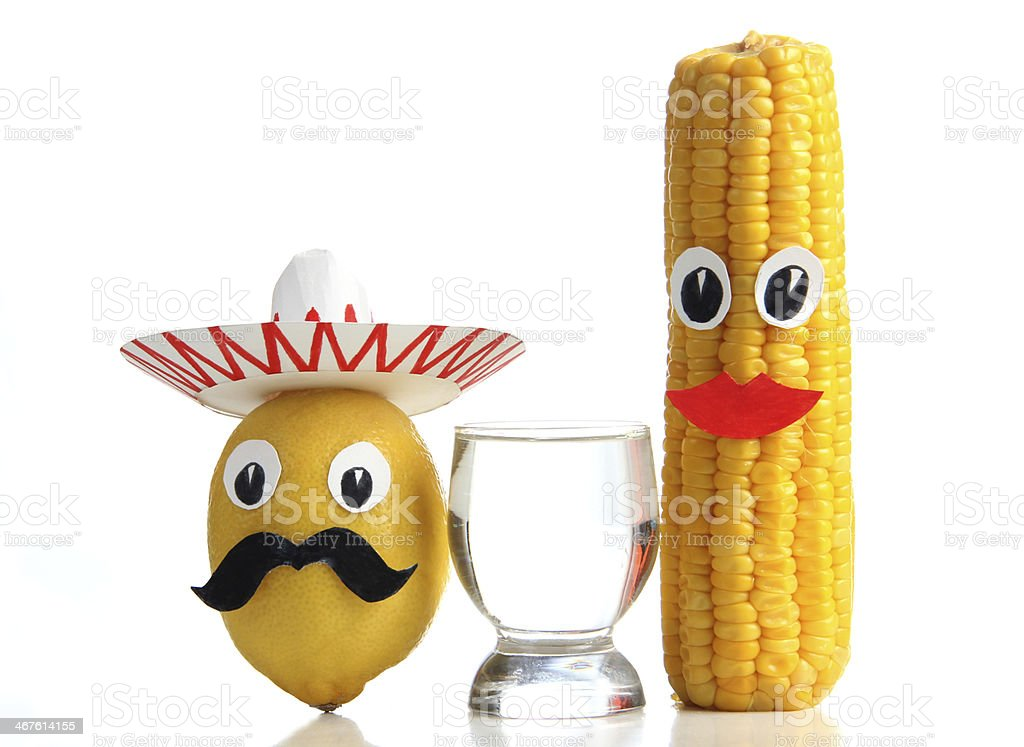 Mexican tequila stock photo