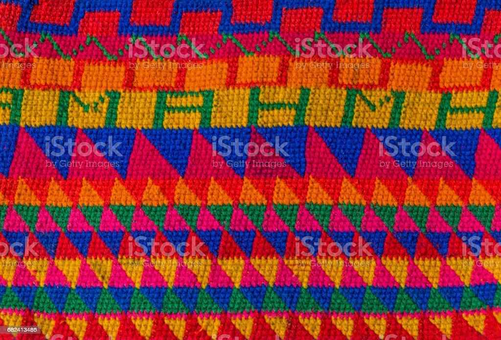 Mexican Textile stock photo
