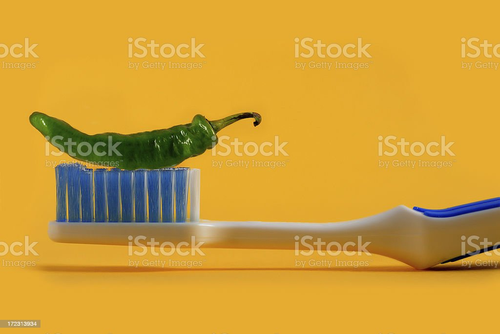 mexican toothpaste royalty-free stock photo