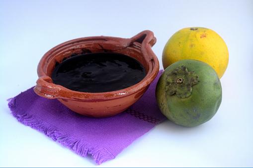Mermelada zapote negro