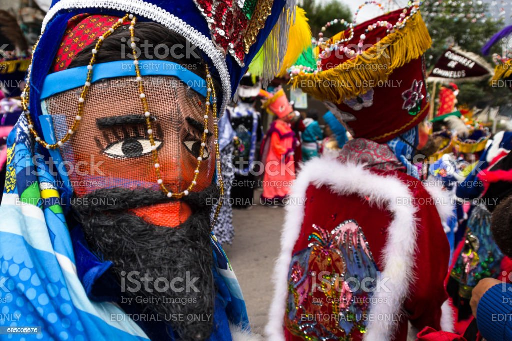 Mexican traditional mask stock photo