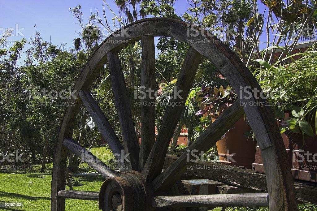 Mexikanische Wagon Wheel Lizenzfreies stock-foto
