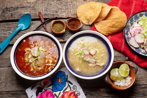 Pozole mexicano
