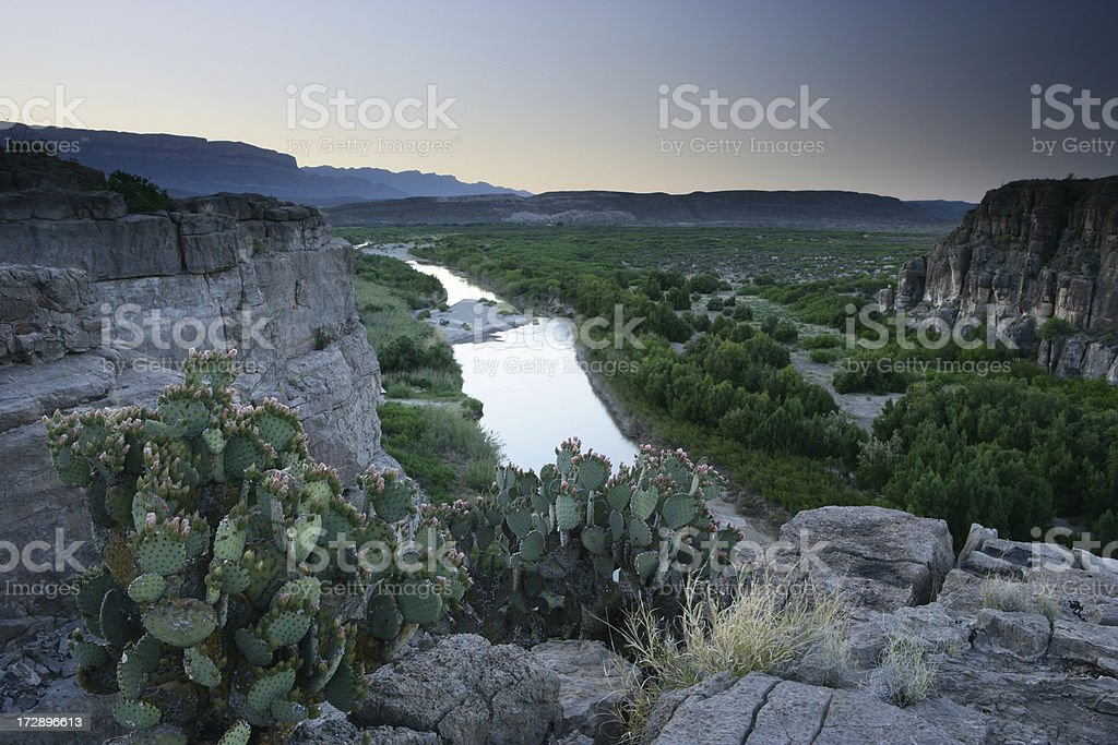 US - Mexico Border stock photo