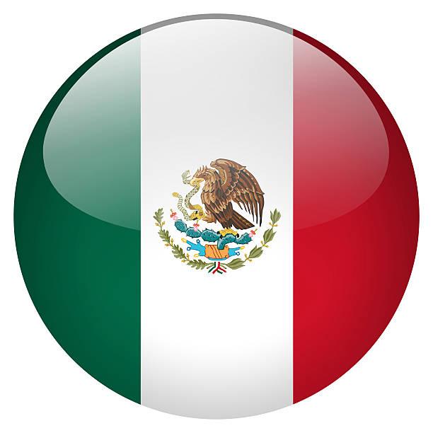 botón de méxico - bandera mexico fotografías e imágenes de stock