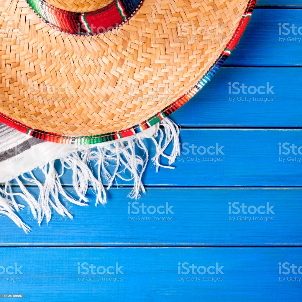 Mexico Cinco De Mayo Background Border Square Format Royalty Free Stock Photo
