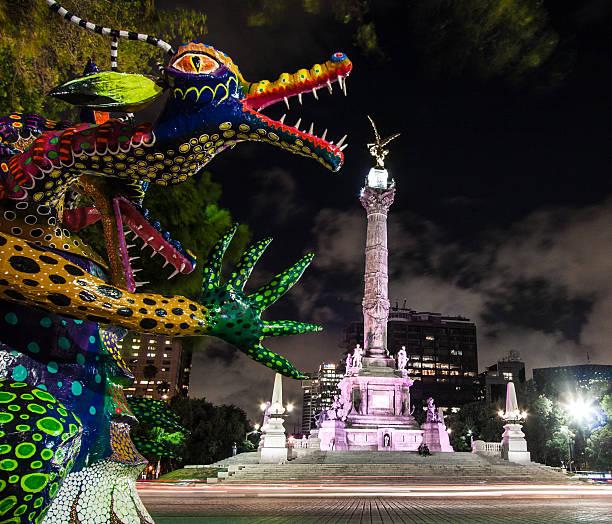 Centro de la ciudad de México - foto de stock