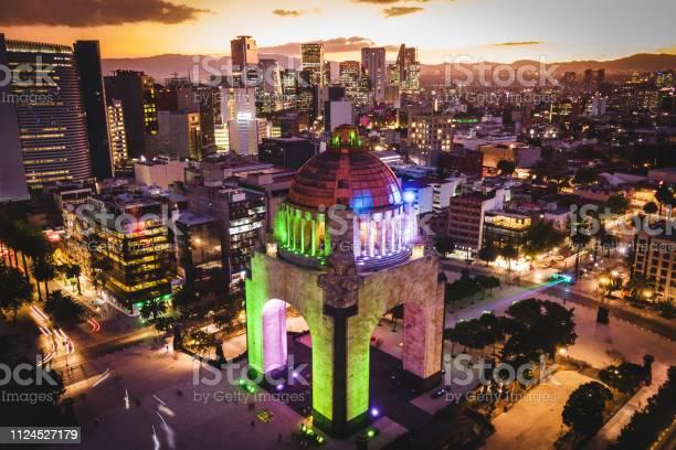Mexico city mexico aerial view of plaza de la republica at dusk picture id1124527179?b=1&k=6&m=1124527179&s=612x612&h=ynbw2bqmypo35bw9iy9burrmvxejtc4dr8ubfivpboo=