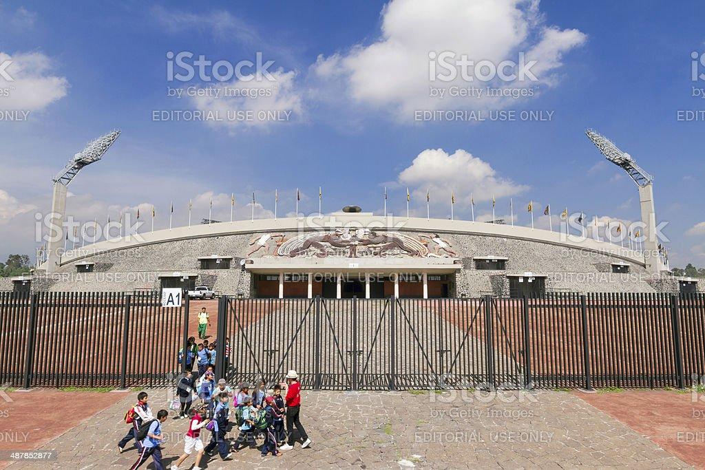 Mexico City Olympic Stadium stock photo