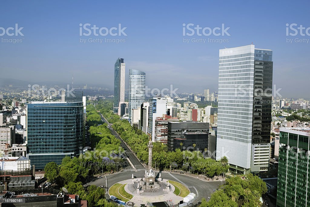 mexico city stock photo
