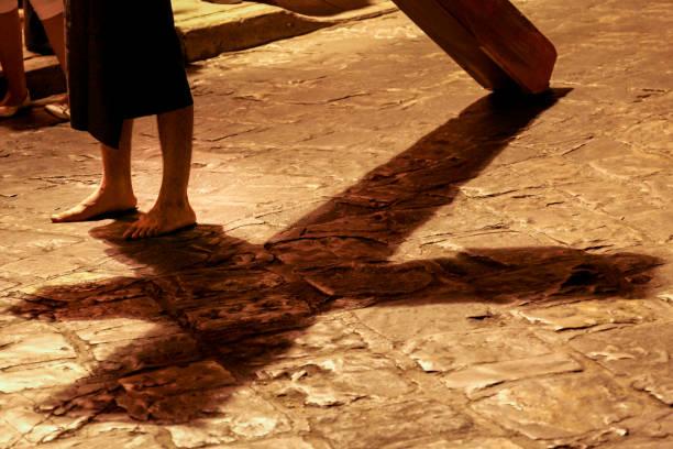 Mexique-Pâques à Oaxaca-procession du silence - Photo