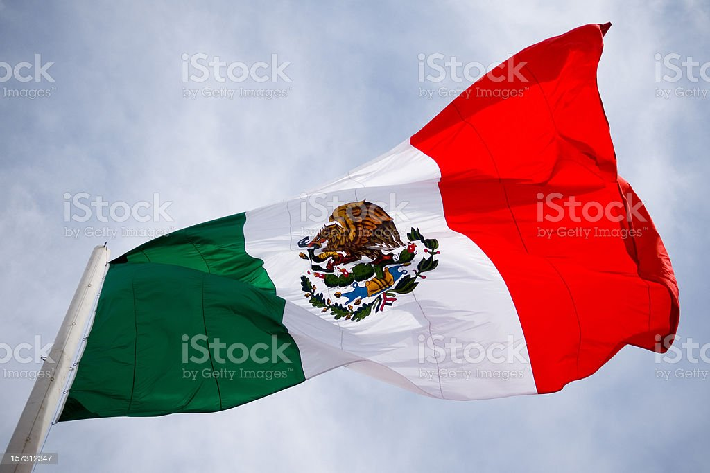 Mexico Flag stock photo