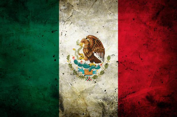 bandera de méxico - bandera mexico fotografías e imágenes de stock