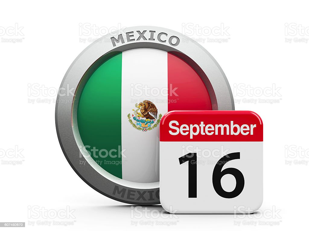 Mexico Independence Day stock photo