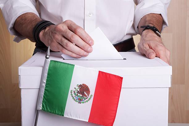 Mexico to vote stock photo
