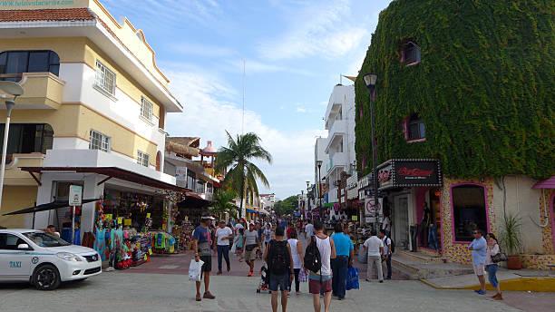 Mexico, Yucatan, Playa del Carmen, - foto de stock