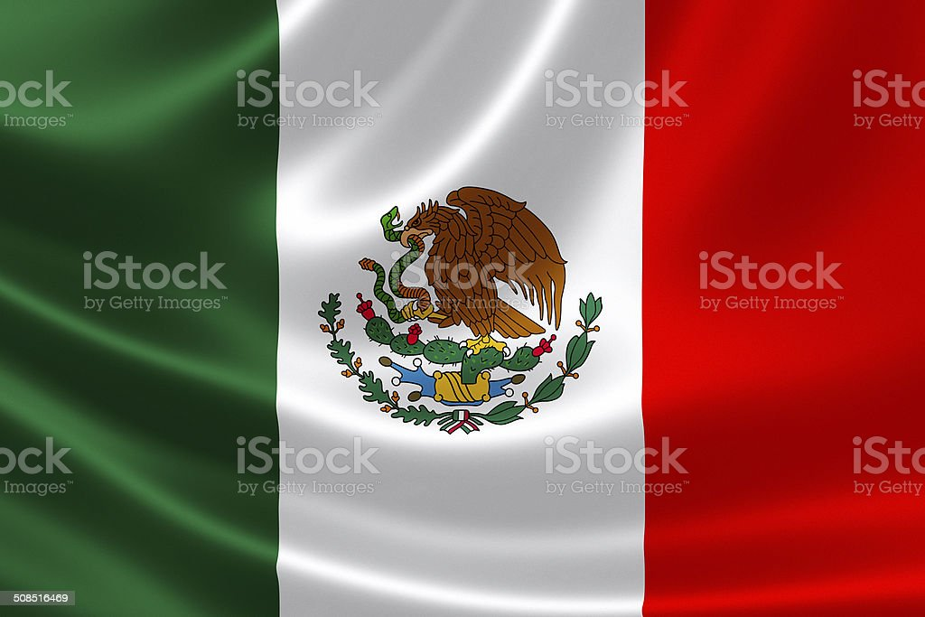 Mexico's Flag stock photo
