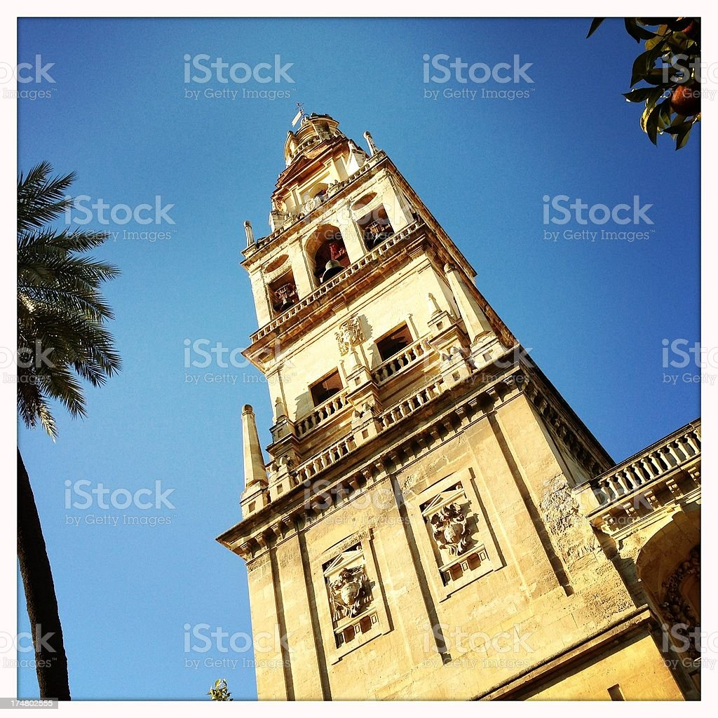 Mezquita Bell Tower royalty-free stock photo